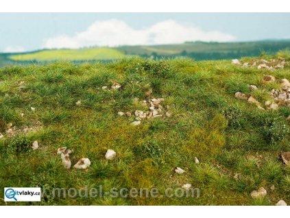 Časné léto - vápencové kameny M (středně kamenité) / Model Scene F722