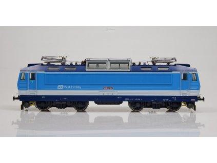 H0 - Lokomotiva ČD 163 026 ex. E499.3 nové číslo/ MTB H0163-026