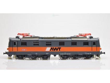 ARCHIV H0 - lokomotiva 181 040 AWT, ex E669.1 - šestikolák / MTB AWT181-040