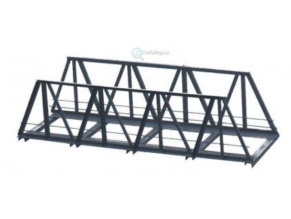 H0 - Železniční most 1- kolejný 180 mm - hotový model z kovu / Hulacki H022