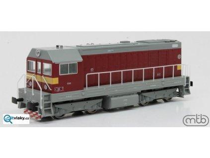 ARCHIV H0 - Dieselová lokomotiva ř. ČSD T458 1091 Velký Hektor / MTB H0721-T091