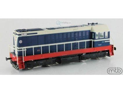 H0 - Dieselová lokomotiva ČSD T458 1171 - ř. 721 Velký HEKTOR/ MTB