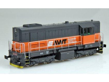 H0 - lokomotiva řady 740 842 AWT Kocour / MTB740842