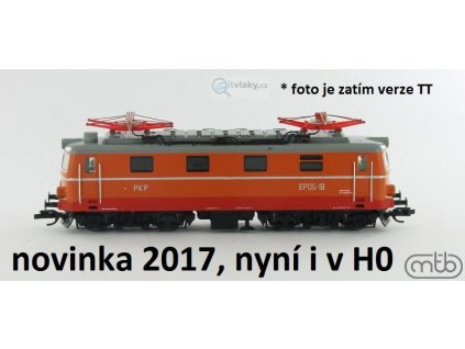 H0 - elektrická lokomotiva PKP EP05-15 / MTB EP05-15