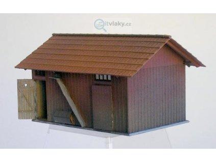 H0 - Podružná budova / KB model LAS 5060