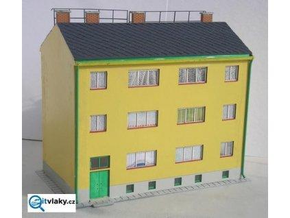 H0 - Družstevní bytovka / KB model LAS 5106