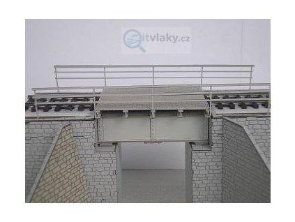 H0 - Most ocelový - propustek / KB model LAS 5403
