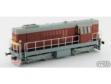 H0 - lokomotiva T466 2293 ČSD KOCOUR / MTB H0466-2293