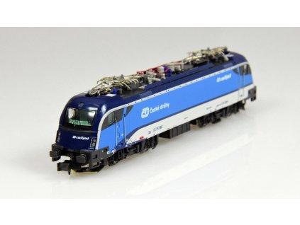 N - Elektrická lokomotiva Taurus III BR1216 Railjet ČD/ HobbyTrain H2730