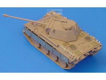 H0 - leptané díly pro tank Tiger od Roco / Hauler HLR87056