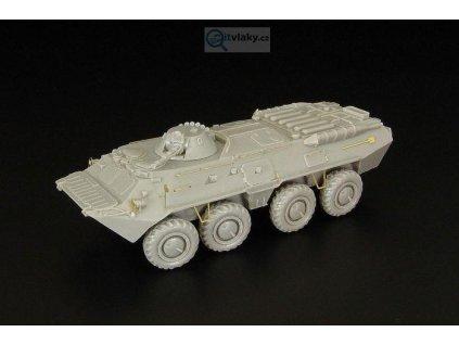 H0 - BTR 80 stavebnice ruského transportéru / Hauler HLR87172