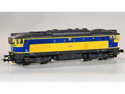 H0 - DCC/ ZVUK! lokomotiva 753.711 OKD Brejlovec / Rivarossi HRS2464