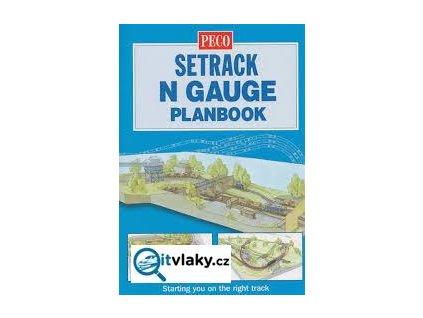 Kniha plánků kolejišť pro SETRACK vel. N / PECO IN-1