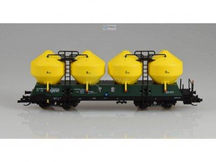 TT - stavebnice nádobového vozu Raj/Uacs od LPH