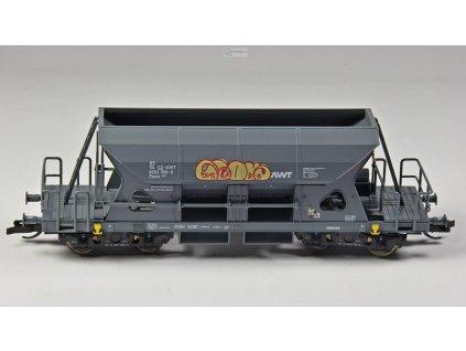 TT - vůz Faccs šedý CZ-AWT graffiti / LOCO M1504