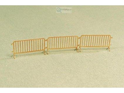 H0 - Mobilní zábrany ( lept ) / Miniatur MHL13