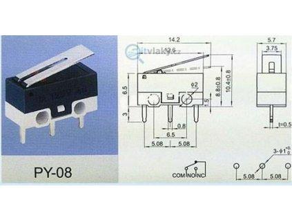 Mikrospínač k MP1