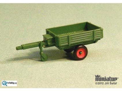 TT - Přívěs jednoosý - valník stavebnice / Miniatur MT 10b