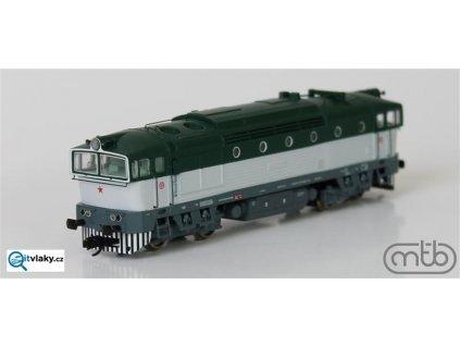 ARCHIV TT - lokomotiva  Brejlovec T478.3113 ČSD / MTB 4783113
