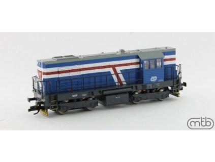 TT - Dieselová lokomotiva 740-420 ČD KOCOUR / MTB 740-420
