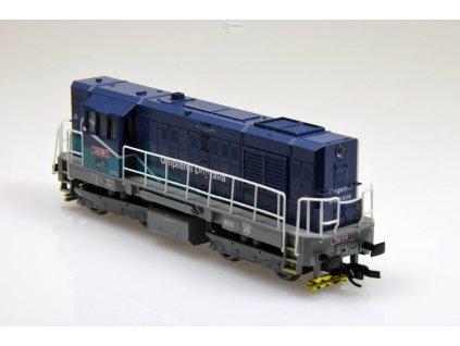 "TT - Dieselová lokomotiva 740 546 ""Unipetrol Doprava"" KOCOUR/ MTB 740-546"