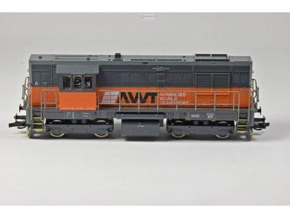 ARCHIV Návrh! TT - Dieselová lokomotiva AWT 740-736 KOCOUR / MTB 740-736