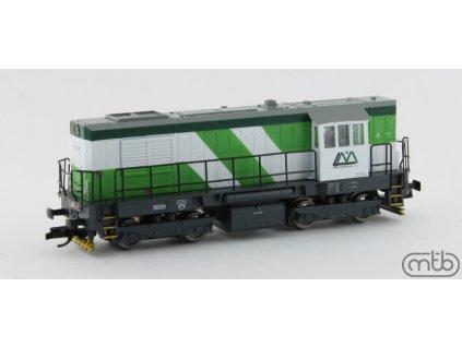 ARCHIV CZ TT - Dieselová lokomotiva 740 863 Lomy Mořina KOCOUR / MTB 740-863