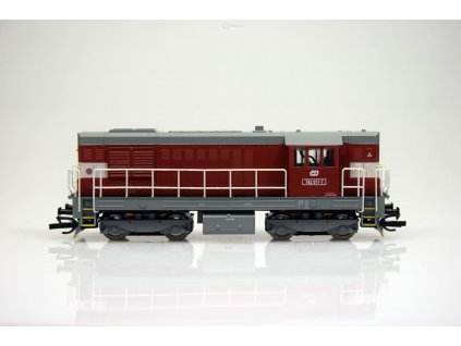 ARCHIV CZ  TT - dieselová lokomotiva 742-017 ČD KOCOUR / MTB 742-017