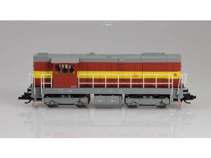 "TT - lokomotiva 743 005 ČSD ""Elektronik"" / MTB 743-005"