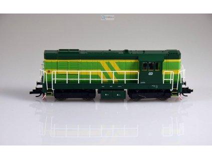 """ARCHIV TT - Dieselová lokomotiva 743 009 ČD """"Elektronik"""" / MTB 743-009"""