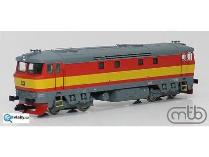 ARCHIV Návrh! TT - Lokomotiva 749 100 ČD BARDOTKA / MTB TT751-100