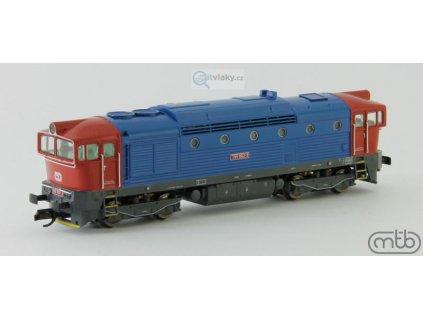 TT - lokomotiva Brejlovec ČD 755-002 / MTB