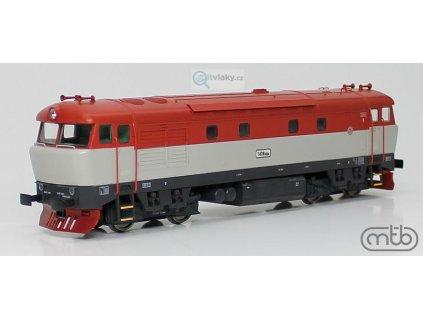 H0 - lokomotiva Bardotka ČD 751 004 ověřovací série / MTB 751-004
