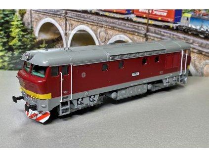 H0 - lokomotiva Bardotka ČSD T478.1001 ověřovací série / MTB T4781001
