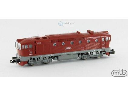 N - Dieselová lokomotiva Brejlovec T478 3098, ČSD / MTB