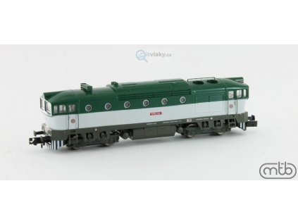 N - Dieselová lokomotiva Brejlovec T478 3162, ČSD / MTB N753-T162