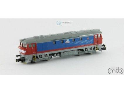 ARCHIV N - lokomotiva Bardotka 749 018 ČD Cargo / MTB