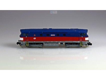 ARCHIV N - lokomotiva Bardotka 749 121 ČD / MTB