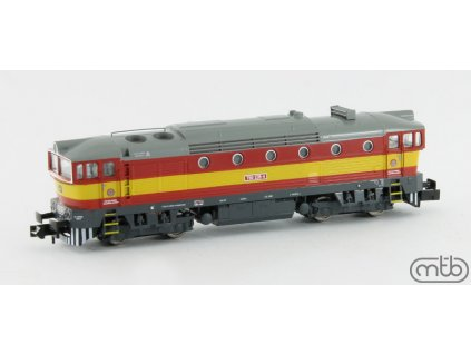 N - Dieselová lokomotiva Brejlovec 750 235, ČD / MTB N750-235