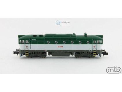 N - Dieselová lokomotiva Brejlovec 753 127 ČD / MTB N753-127