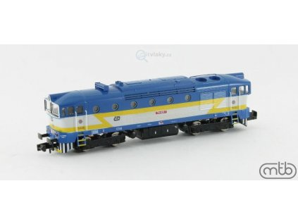 N - Dieselová lokomotiva Brejlovec 754 029, ČD / MTB