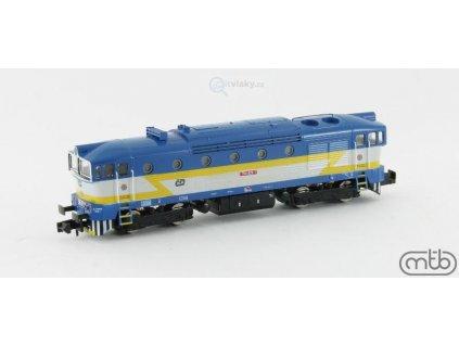 POSLEDNÍ N - Dieselová lokomotiva Brejlovec 754 029, ČD / MTB