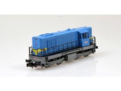 N - dieselová lokomotiva T448 0513 KOCOUR ČSD / MTB T4480513