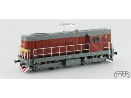 TT - dieselová lokomotiva T466 2094 ČSD Kocour červená / MTB TT742-T094