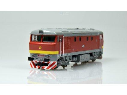 ARCHIV TT - Lokomotiva T478 1004 ČSD BARDOTKA / MTB T4781004