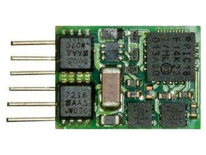 mikro lokodekodér ZIMO MX621N - NEM651 - 6 pin