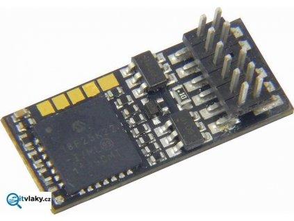 malý lokodekodér s PluX12 ZIMO MX623P12 / 20x8,5x3,5 mm
