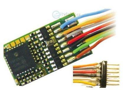 lokodekodér ZIMO MX630F 6-pin NEM651 na káblíku / 20x11x3,5mm