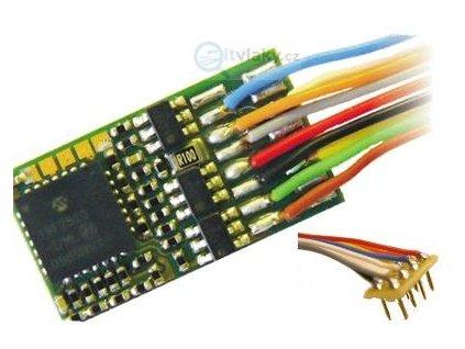 dekodér ZIMO MX630R 8-pin NEM652 na káblíku / 20x11x3,5mm
