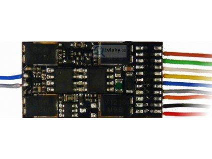 H0 výkonový dekodér ZIMO MX632 s káblíky / 28 x 15,5 x 4mm